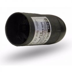 F 14-301 M foglalat E14 fekete DELUX (DEL019)