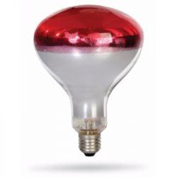 DEL1001 INFRA  230V/150W rubin R125 E27 deLux