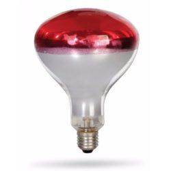INFRA lámpa 230V/250W rubin R125 E27 deLux DEL1002