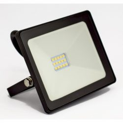 DEL1446 Reflektor   20W LED, 1600lm, 200-240VAC, IP65, 4000K, 120 fok,30x SMD2835 LED, lapos, fekete, 150*127*35mm, alumínium SLIM SERIES delux