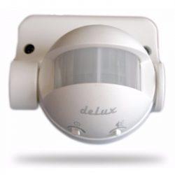 DEL625 Mozgásérzékelő 180fok fehér, IP44 deLux