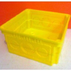 Műa.doboz 100x100 D-1101 sárga