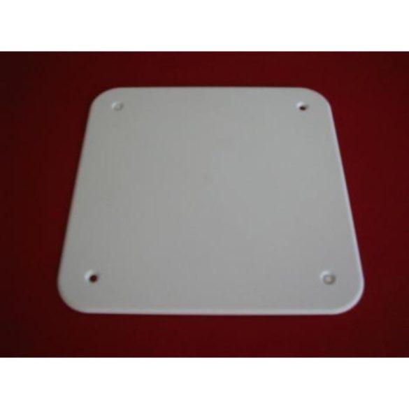 Műanyag doboz fedő D-1102    100x100 csavarozható DUND1102