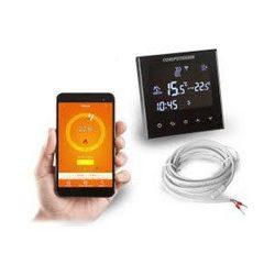 COMPUTHERM E300 Wi-Fi termosztát fekete, radiátoros és padlófűtési rendszerekhez 0-50 C 230V