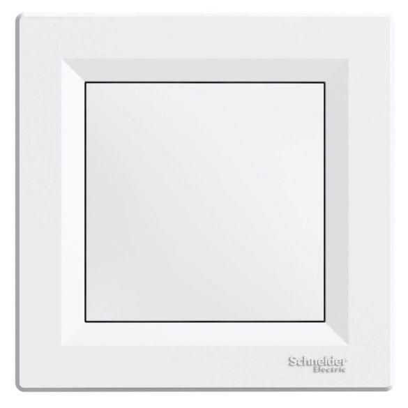 Asfora vakfedél műanyag fehér IP20 Schneider