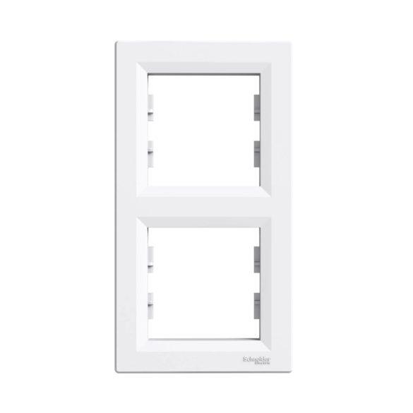 Schneider ASFORA fehér keret 2-es, függőleges EPH5810221
