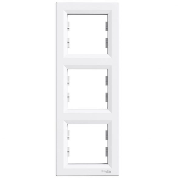 Schneider ASFORA fehér keret 3-as, függőleges EPH5810321