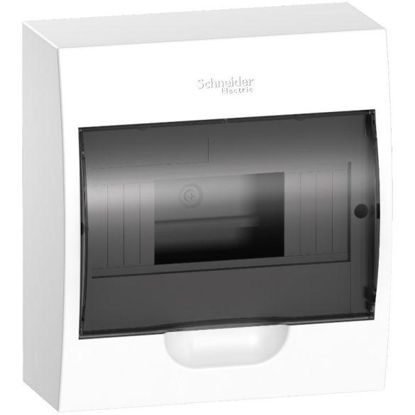 Kiselosztó EASY9 sülly.füst.ajtó 8M 1sor IP40 fehér