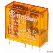 FINDER 40.52.8.024 relé 200W 24V forrasztható