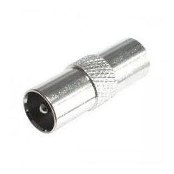 Koax csatlakozó FST 1 Koax dugó, fém, kábelre tekerhető