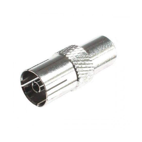 Koax csatlakozó FST 2 Koax aljzat, fém, kábelre tekerhető