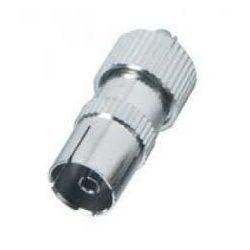 FS 15 Koax aljzat, fém koax kábelhez