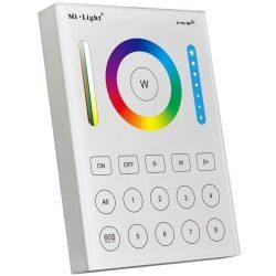 MiLight FUTB8 RGB+CCT 8 zónás fali vezérlő távirányító 3V Elemes, Mi-Light Smart panel
