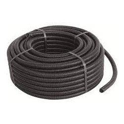 Gégecső d=40mm Műanyag Lépésálló (fekete) gégecsőFk 140/25m B9 ElettroCanali