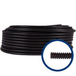 Gégecső  SGN 20/100  (fekete) lépésálló  GEWISS GW15020