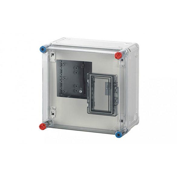 Hensel BASIC HB1000 fogyasztásmérő szekrény, 1 fázisú mérő számára 300x300x185mm