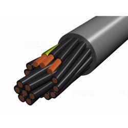 YSLY-Jz 7x 1,5 szürke (100) 300/500V vezérlőkábel