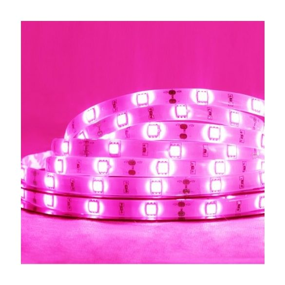 Ledszalag 3528WN 120led/m IP20 szines pink