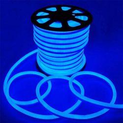 LED NEON FLEX SMD 2835 120LED 8x16mm KÉK, LNF_BLUE