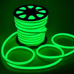 LED NEON FLEX SMD 2835 120LED 8x16mm ZÖLD, LNF_GREEN
