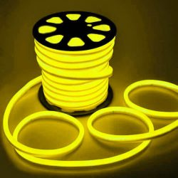 LED NEON FLEX SMD 2835 120LED 8x16mm SÁRGA, LNF_YELLOW