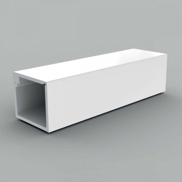 LZ 15x12 Kábelcsatorna fehér műanyag