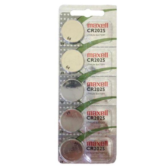 Maxell CR2025 Gombelem, litium, 3V