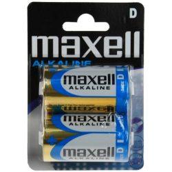 Maxell LR20 D elem, alkáli, 1,5V 2db