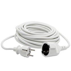 Hosszabbító 10fm fehér NV 2-10/W 10m