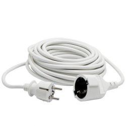 Hosszabbító 5fm fehér NV 2-5/W 5m hosszabbító, fehér