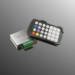 RGB rádiós vezérlő szett fali tartóval (3x6A) PL9122
