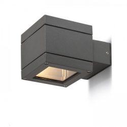 TELO fali lámpa anrtracitszürke  230V G9 40W IP44, Rendl Light Studio R10554
