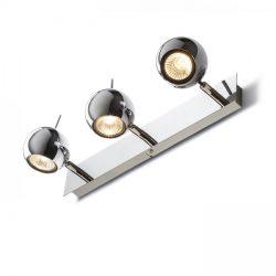 GLOSSY III   króm 230V LED GU10 3x8W, Rendl Light Studio R10604
