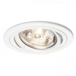 EFFE R süllyesztett lámpa fehér  12V G53 50W, Rendl Light Studio R11747