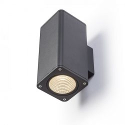 MIZZI SQ II fali lámpa anrtracitszürke  230V LED 2x12W 46° IP54  3000K, Rendl Light Studio R11965