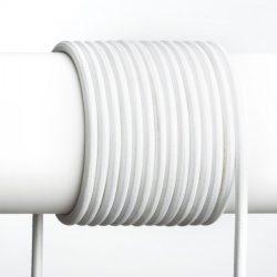 FIT 3x0,75 1bm textil kábel fehér, Rendl Light Studio R12214