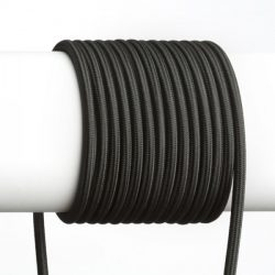 FIT 3x0,75 1bm textil kábel fekete, Rendl Light Studio R12222