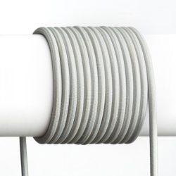 FIT 3x0,75 1bm textil kábel szürke, Rendl Light Studio R12223
