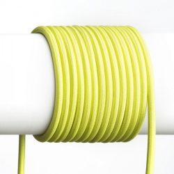 FIT 3x0,75 1bm textil kábel lime, Rendl Light Studio R12225