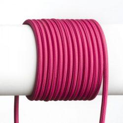 FIT 3x0,75 1bm textil kábel fukszia, Rendl Light Studio R12226