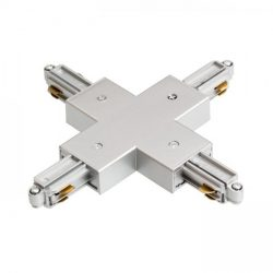 1F X kapocs ezüstszürke  230V, Rendl Light Studio R12280