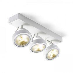 KELLY III fali lámpa fehér  230V/12V G53 3x50W, Rendl Light Studio R12329