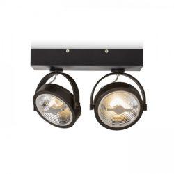 KELLY LED II fali lámpa fekete  230V LED 2x12W 24°  3000K, Rendl Light Studio R12335