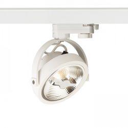KELLY LED három áramkörös sínre fehér  230V LED 12W 24°  3000K, Rendl Light Studio R12338