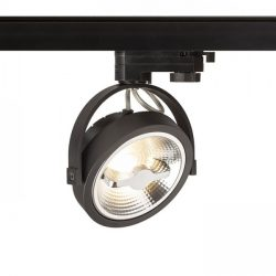 KELLY LED három áramkörös sínre fekete  230V LED 12W 24°  3000K, Rendl Light Studio R12339