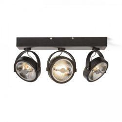 KELLY LED III DIMM fali lámpa fekete  230V LED 3x12W 24°  3000K, Rendl Light Studio R13109