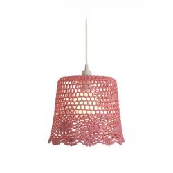 DAISY függeszték lámpabúra rózsaszín   max. 15W, Rendl Light Studio R13278