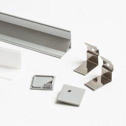 LED PROFILE F felületre szerelhető 1m, Rendl Light Studio R13386