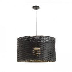 FIATLUX 41/24 függeszték fekete bambusz 230V E27 15W, Rendl Light Studio R13398