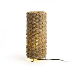 FLORINA 38/15 asztali lámpa  természetes 230V E27 11W, Rendl Light Studio R13449
